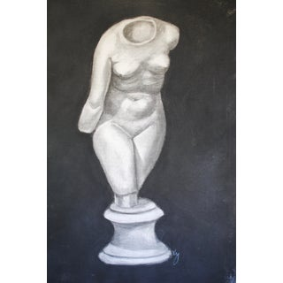Neoclassical Statue Drawing