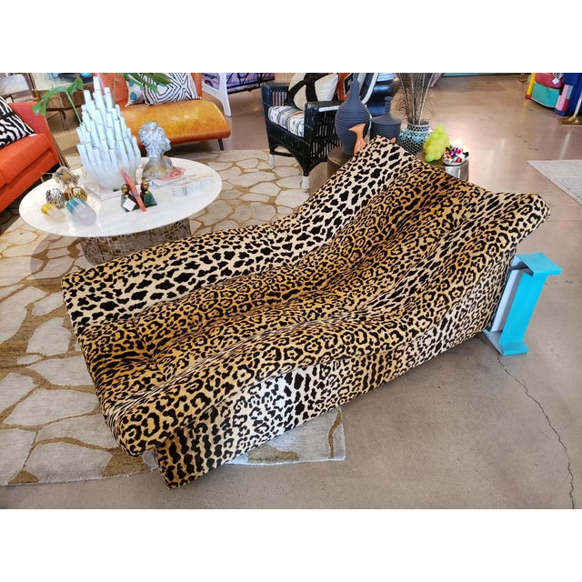 This is an example of true decadence! The Classic vintage midcentury appeal alongside the glamorous leopard material...