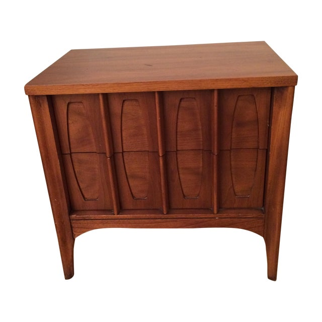 Kent Coffee Townhouse Mid-Century Nightstand - Image 1 of 3