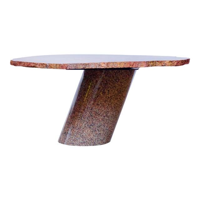 Karl Springer Petrified Wood Side Table For Sale