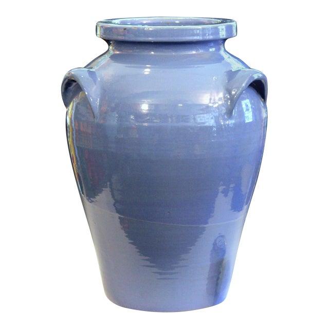 Huge Pickrull Zanesville Norwalk Pot Shop Urn Pottery Arts & Crafts Floor Vase For Sale