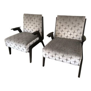 Mid Century Modern Occasional Chairs- A Pair For Sale