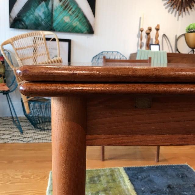 Am Mobler Danish Teak Expandable Table - Image 7 of 10