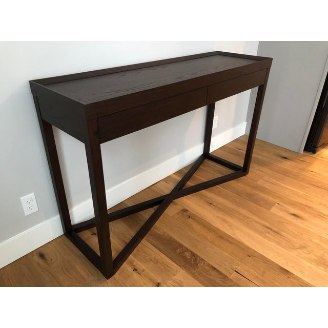 Calvin Klein Modern Calvin Klein Console Table With Storage For Sale - Image 4 of 12