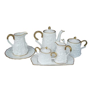 Royal Stafford Tea & Coffee Service - 7 Pieces For Sale