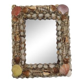 Handmade Seashells Mirror For Sale