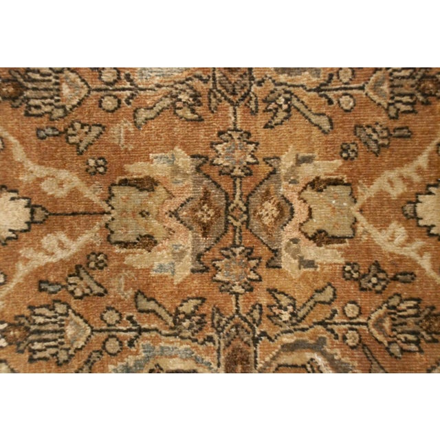 "Early 20th Century Early 20th Century Mahal Sultanabad Rug - 144"" x 208"" For Sale - Image 5 of 5"