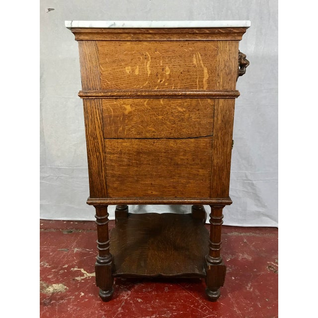 Pair of Oak Belgian 19th Century Side Tables For Sale - Image 10 of 13
