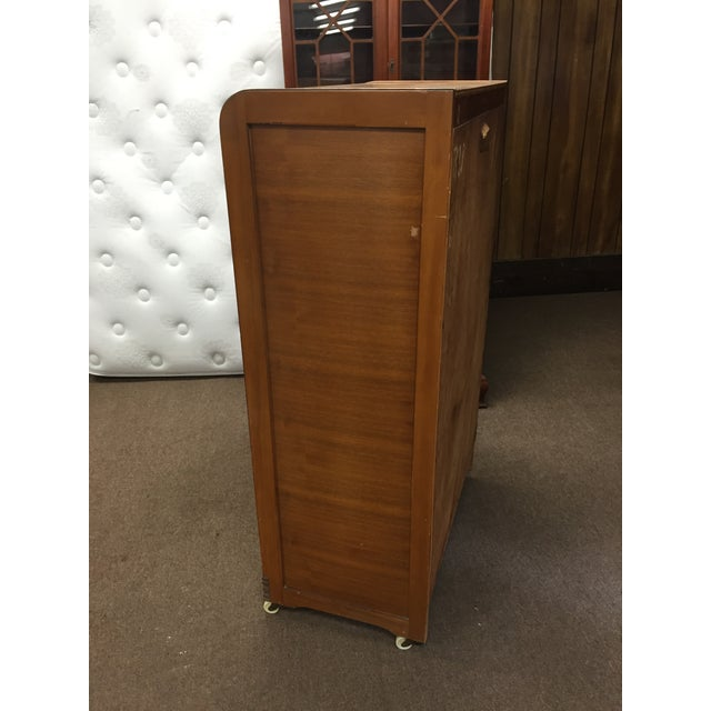 Art Deco Tall Dresser with Drawers - Image 7 of 11