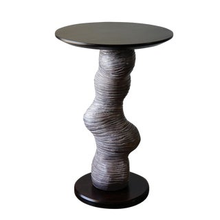 Abstract Twisted Side Table by Jenny Poston For Sale