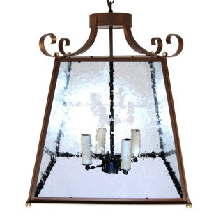Large Contemporary Parisian Style Pagoda Lantern For Sale