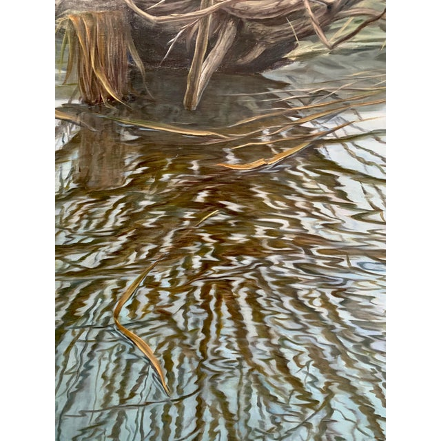 Realism Original Oil Painting on Canvas by Paulius Juska For Sale - Image 3 of 6