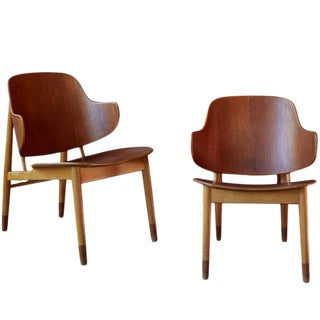 Ib Kofod-Larsen Chairs for Christiansen & Larsen