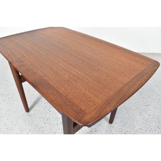 Bramin Møbler Refinished Teak Side/End Table - Image 5 of 5