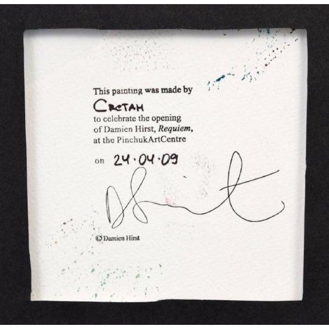 Damien Hirst Damien Hirst Spin Art Heart, Ukraine, 2009 For Sale - Image 4 of 6