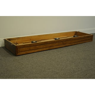"""20th Century Traditional Thomasville Furniture Origins Collection Pier Group 64"""" Light Bridge Preview"""