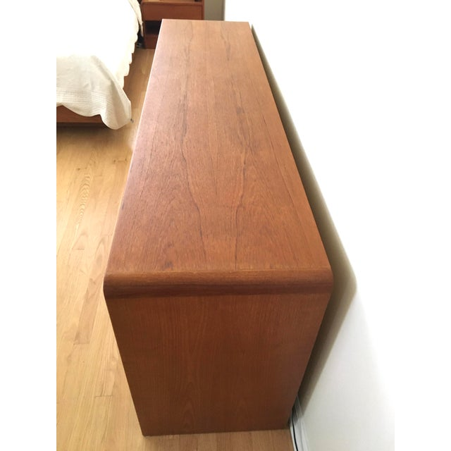 Mid-Century Modern Danish Modern Teak Dresser For Sale - Image 3 of 7