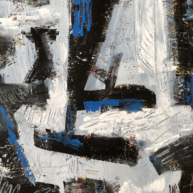 2010s Original Contemporary Abstract Original Painting Bill Ryan For Sale - Image 5 of 8