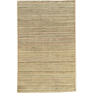 Contemporary Hand Woven Rug - 3'10 X 6'2 For Sale