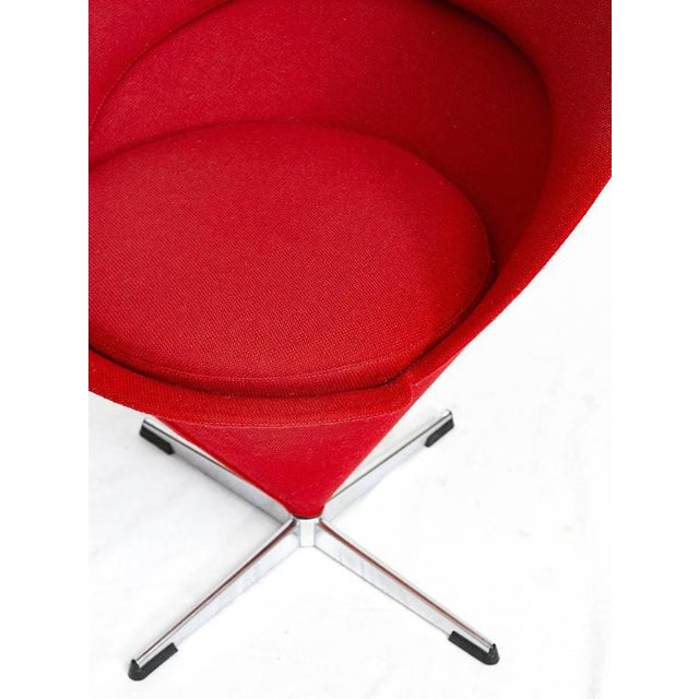 "Verner Panton ""Cone"" Chair For Sale - Image 9 of 10"