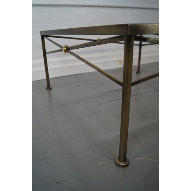 Design Institute of America Steel Coffee Table - Image 5 of 10