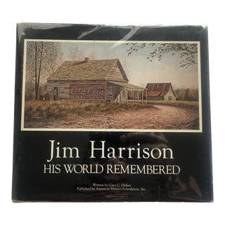Jim Harrison: His World Remembered, Drawing & Signed For Sale