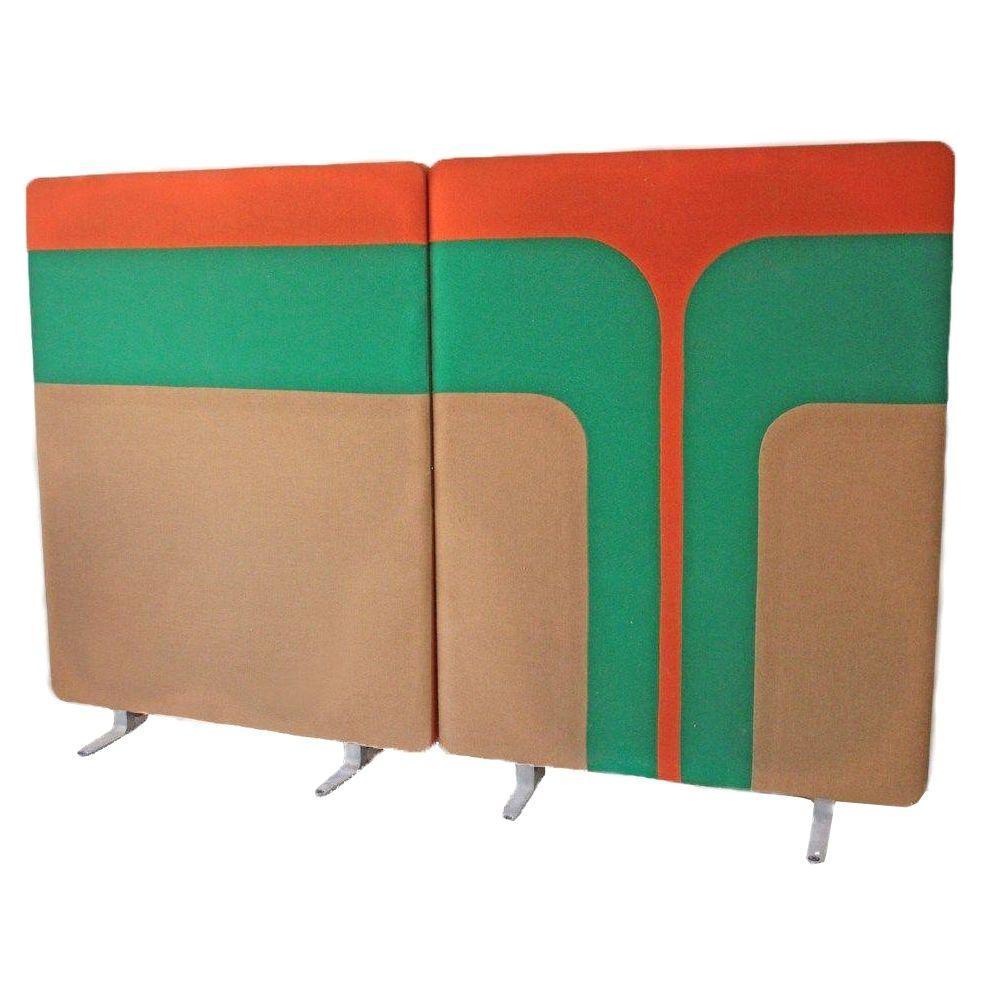 Mid Century Mod Room Divider Wall Panels Chairish