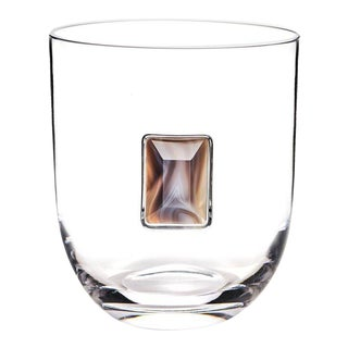 Elevo Champagne Bucket, Crystal & Smoke Agate For Sale