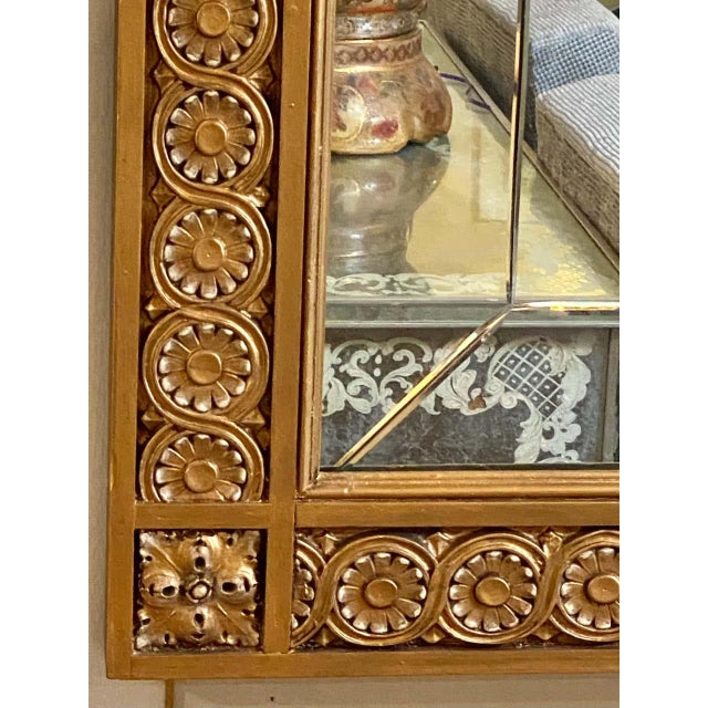 Pair of Neoclassical Wall or Console Mirrors, Giltwood Carved For Sale In New York - Image 6 of 13