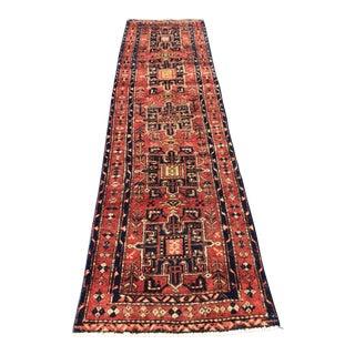 Vintage Persian Karajeh Runner - 3′ × 10′