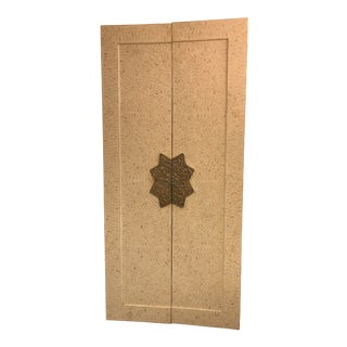 Indian Cream and White Bone Inlay Doors For Sale