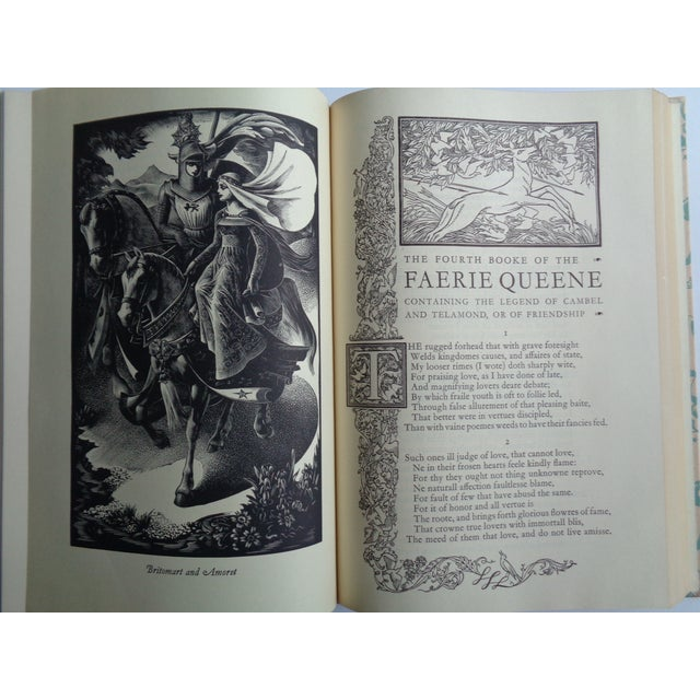 1950s Vintage Coronation Edition of the Faerie Queene Book For Sale - Image 5 of 6