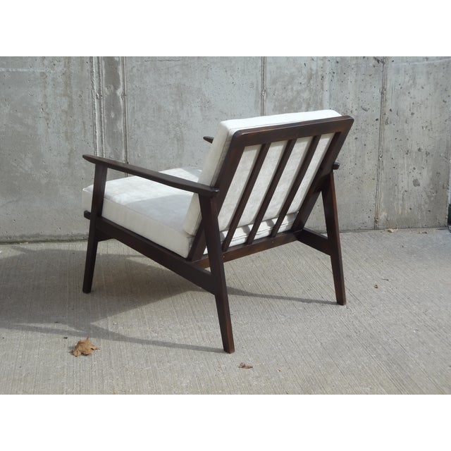 Restored Danish Modern Style Armchair - Image 8 of 11