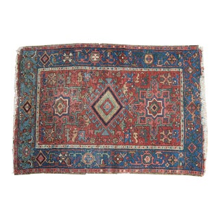 "Antique Karaja Rug - 3'1"" x 4'6"""