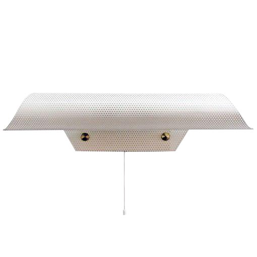 French Perforated Wall Light by Lunel For Sale