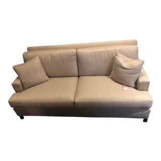 Modern Baker Furniture Track Arm Sofa For Sale