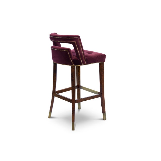 Naj Bar Chair From Covet Paris For Sale - Image 4 of 7
