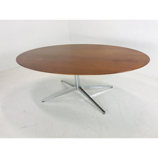 1970s Florence Knoll Dining Table/Desk/Conference Table For Sale - Image 5 of 8