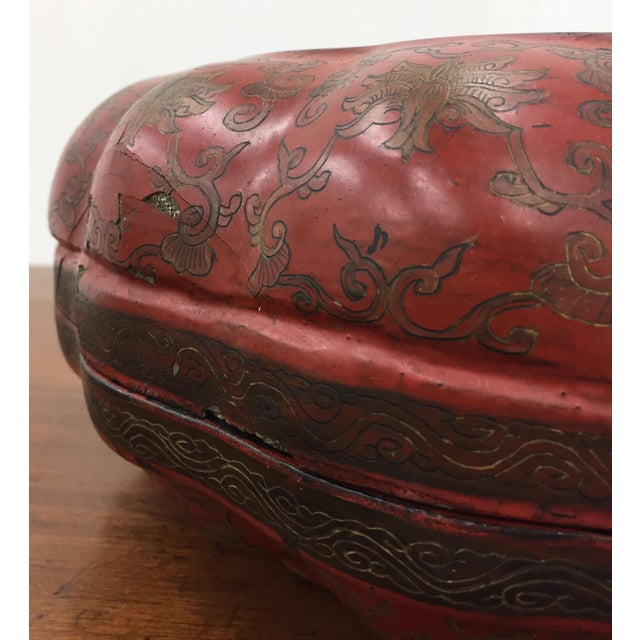 Antique Asian Sewing Box For Sale - Image 5 of 11