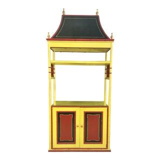 Chinoiserie Pagoda Cabinet