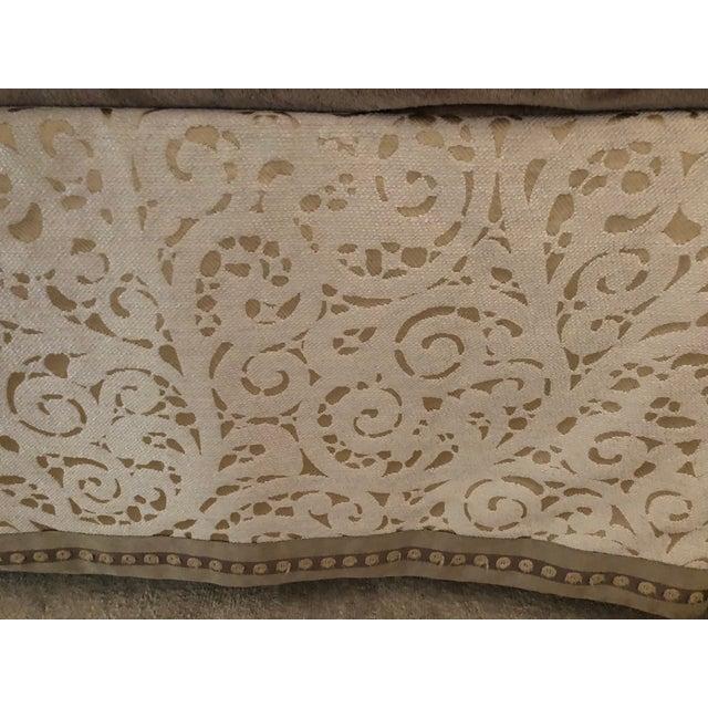 Wood Christopher Guy Upholstered King Headboard For Sale - Image 7 of 8
