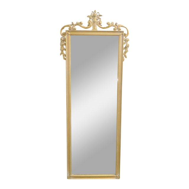 20th Century Italian Rococo Style Wall Mirror For Sale