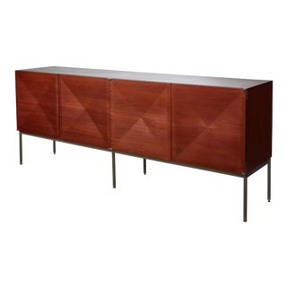 Pointe De Diamant Sideboard by Philippon and Lecoq for Behr, 1960s For Sale