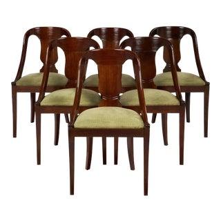 Gondola Empire Style Chairs - Set of 6