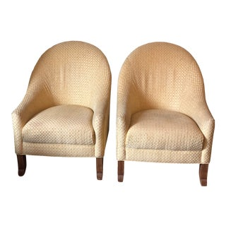 Kravet Catalina Custom Chairs - a Pair For Sale