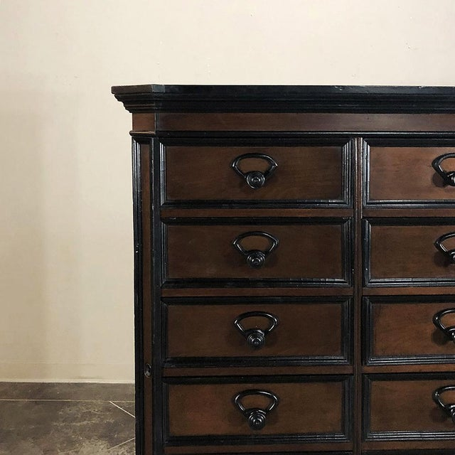 19th Century French Napoleon III File Cabinet For Sale - Image 4 of 13