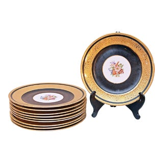 Bavarian Rosenthal Chargers - Set of 10 For Sale