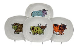 Image of Mid-Century Modern Decorative Plates