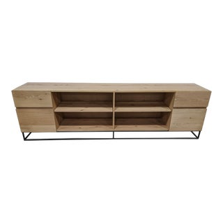 West Elm Industrial Credenza For Sale