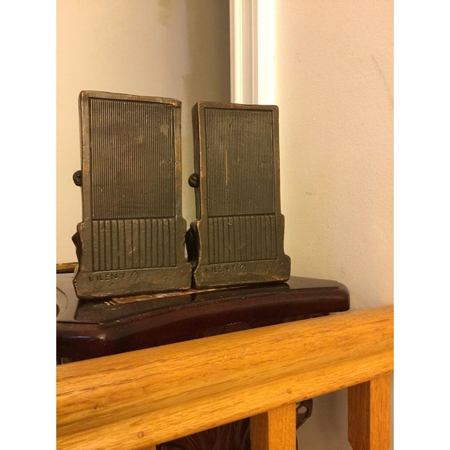 Late 20th Century Signed Kileny Bronze Bookends - A Pair For Sale - Image 5 of 7